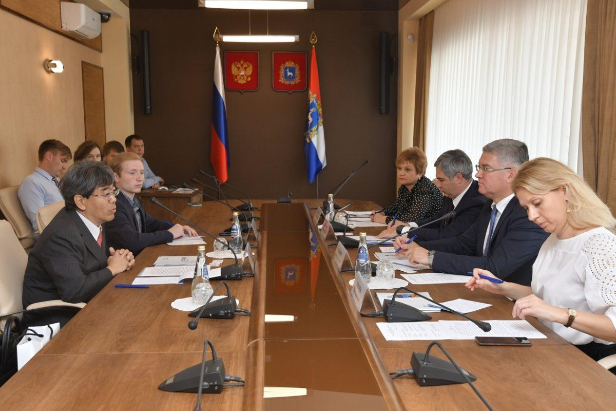 В Самарском Правительстве состоялась встреча с представителем посольства Японии