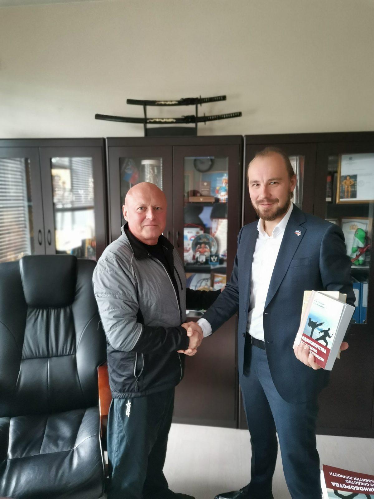 Свердловское областное отделение ОРЯ подписало соглашение с училищем Олимпийского резерва