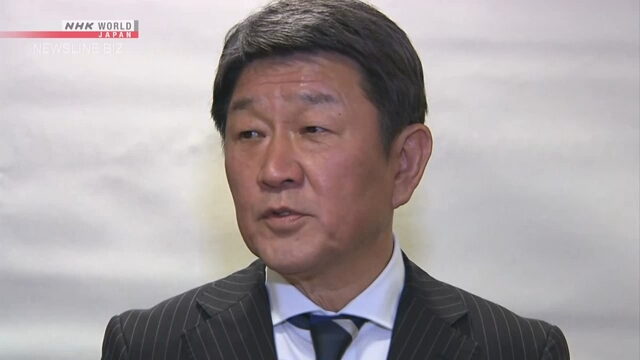 Тосимицу Мотэги желает скорых шагов по проблеме труда в военное время