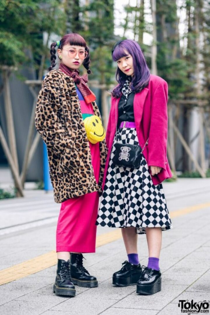 Модники и модницы на улицах Токио (30 фото)