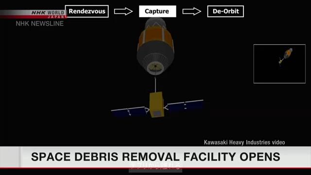 В Японии будет осуществляться проект по удалению космического мусора
