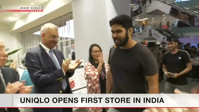Компания Uniqlo открыла свой первый магазин в Индии