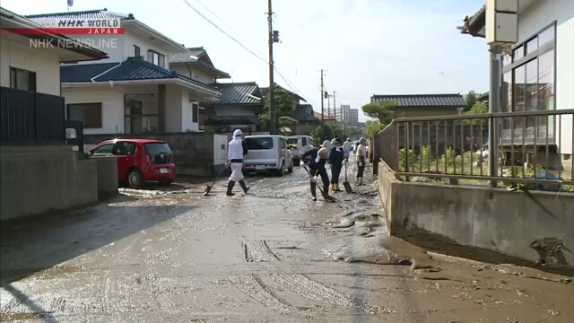 Тайфун №19 привел к разрушению дамб на 47 реках