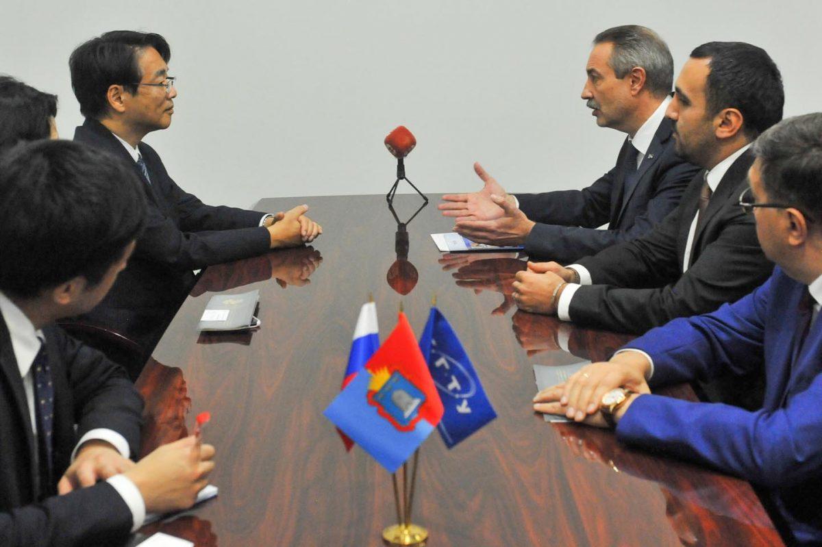 Ректор ТГТУ встретился с чрезвычайным и полномочным послом Японии в России
