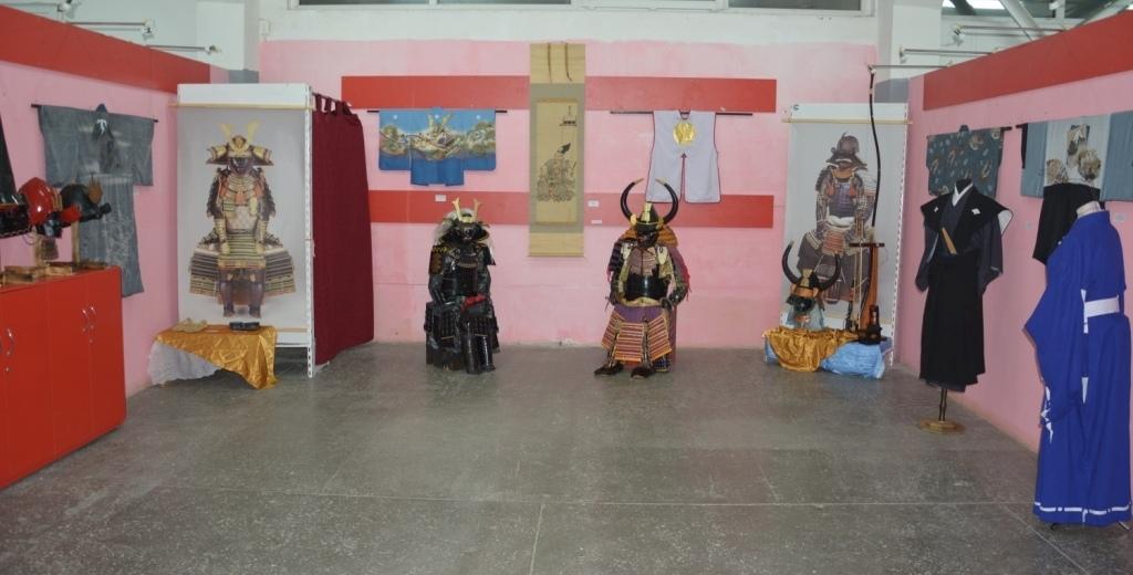 Выставка «Сакура и меч»