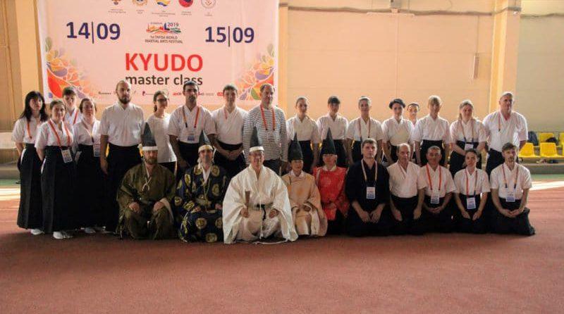 Показательное выступление и семинар по Кюдо на фестивале боевых искусств TAFISA, Ульяновск (14-15.09.2019)
