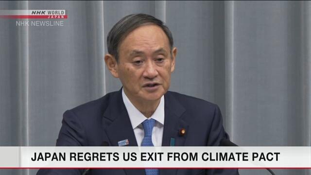 Япония сожалеет о решении США выйти из Парижского соглашения