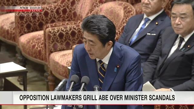 Депутаты от оппозиционных партий критикуют Синдзо Абэ