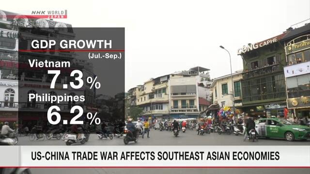 Экономики стран Юго-Восточной Азии по-разному реагируют на американо-китайский торговый конфликт