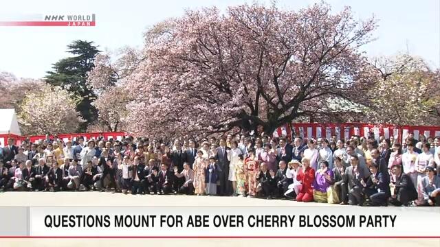 Синдзо Абэ высказал мнение о пересмотре мероприятия по любованию сакурой