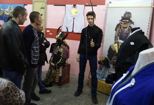 Осужденные из УФИЦ КП-2 УФСИН России по Алтайскому краю посетили выставку японского искусства
