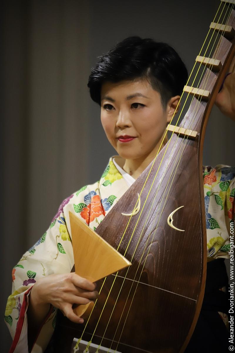 Концерт «Сацума-Бива Голос Истории»