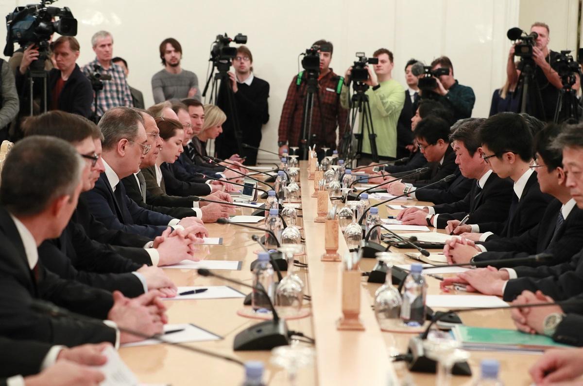 Вступительное слово Министра иностранных дел Российской Федерации С.В.Лаврова в ходе переговоров с Министром иностранных дел Японии Т.Мотэги, Москва, 19 декабря 2019 года