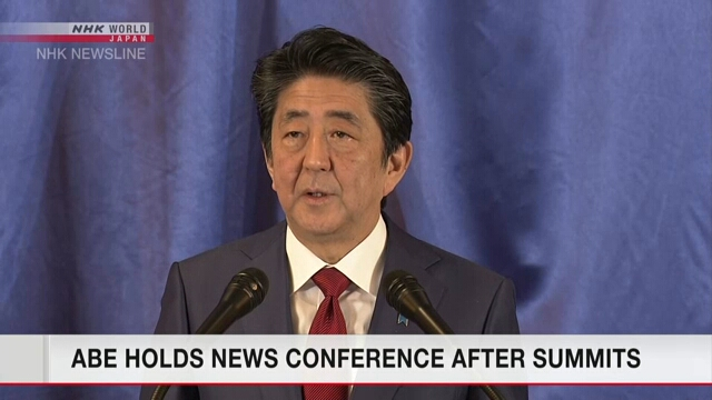 Синдзо Абэ подвел итоги саммитов с лидерами Южной Кореи и Китая