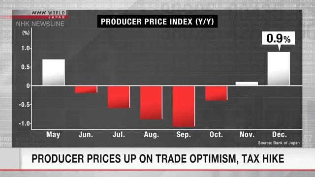 Росту цен производителей в Японии способствовали оптимизм в торговле и повышение потребительского налога