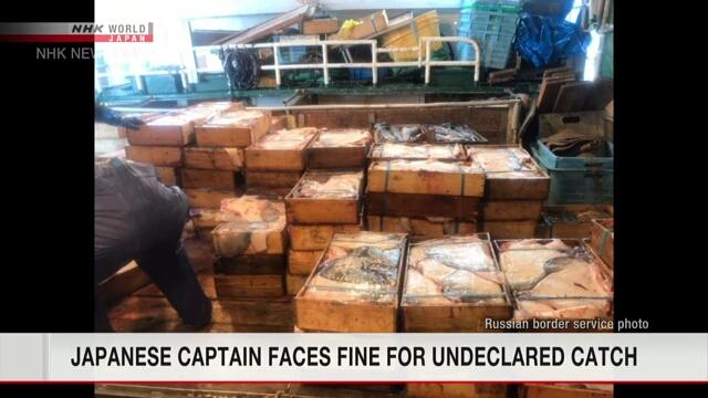 Россия оштрафует японское рыболовное судно за незадекларированный улов