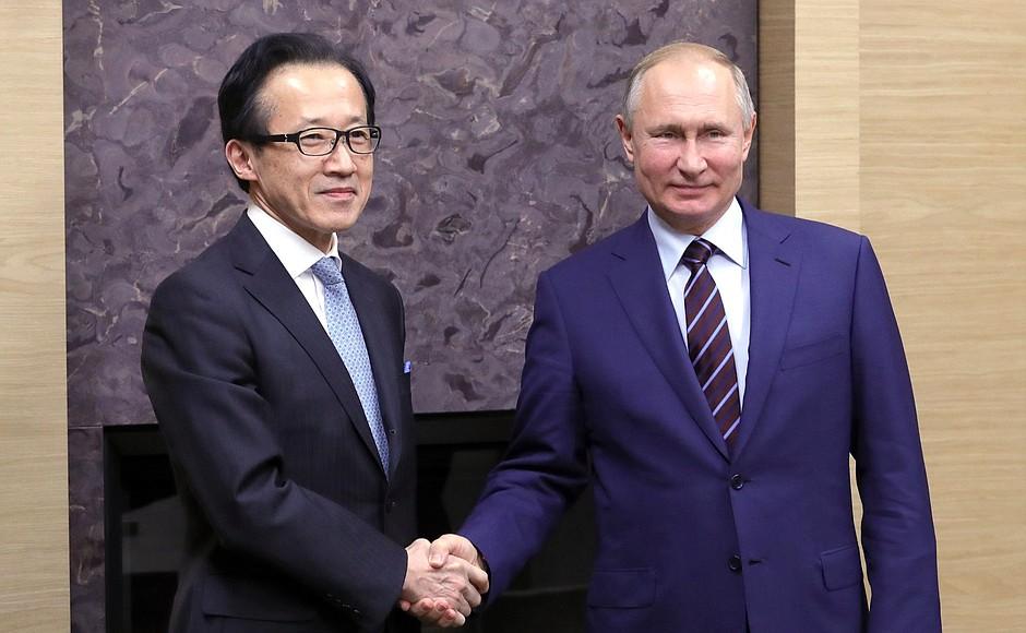 Встреча с Генеральным секретарём Совета национальной безопасности Японии Сигэру Китамурой