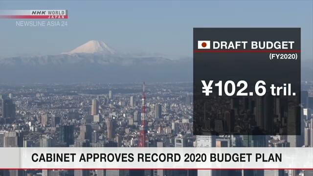 Кабинет министров Японии одобрил проект бюджета на 2020 финансовый год
