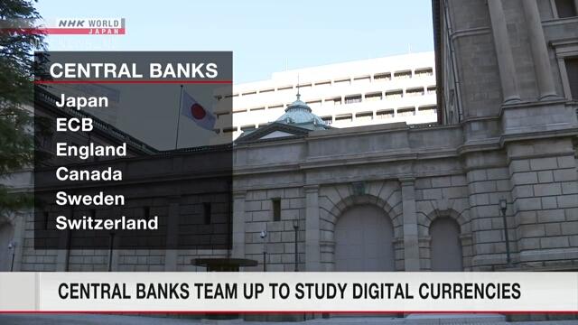 Группа центральных банков изучит перспективы использования цифровых валют
