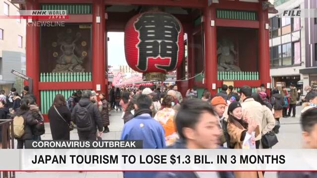 Убытки индустрии туризма Японии в первые три месяца этого года могут составить 1 млрд 300 млн долларов