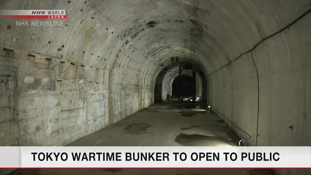 Подземный бункер военного времени в Токио будет открыт для обозрения публики